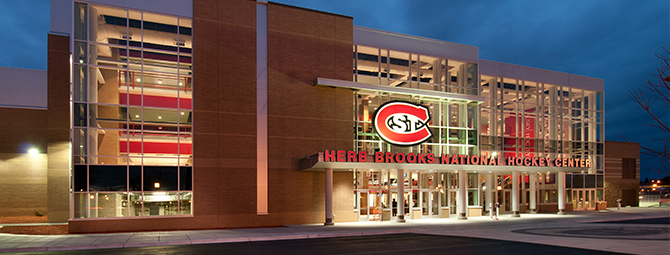 Herb Brooks National Hockey Center St Cloud State