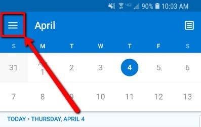 Shared Calendar Icon.Access Shared Calendar On Outlook Application Android