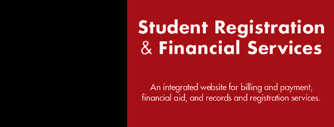 Student Registration and Financial Services